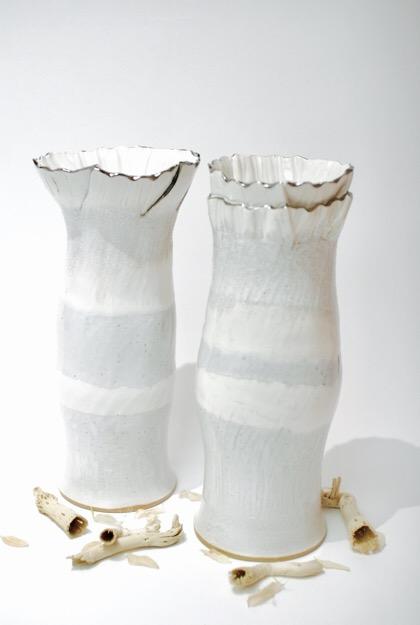 Right: Nalin (Maiden) & Left: Ekta (Unity) 26 x 11 max width £50 each
