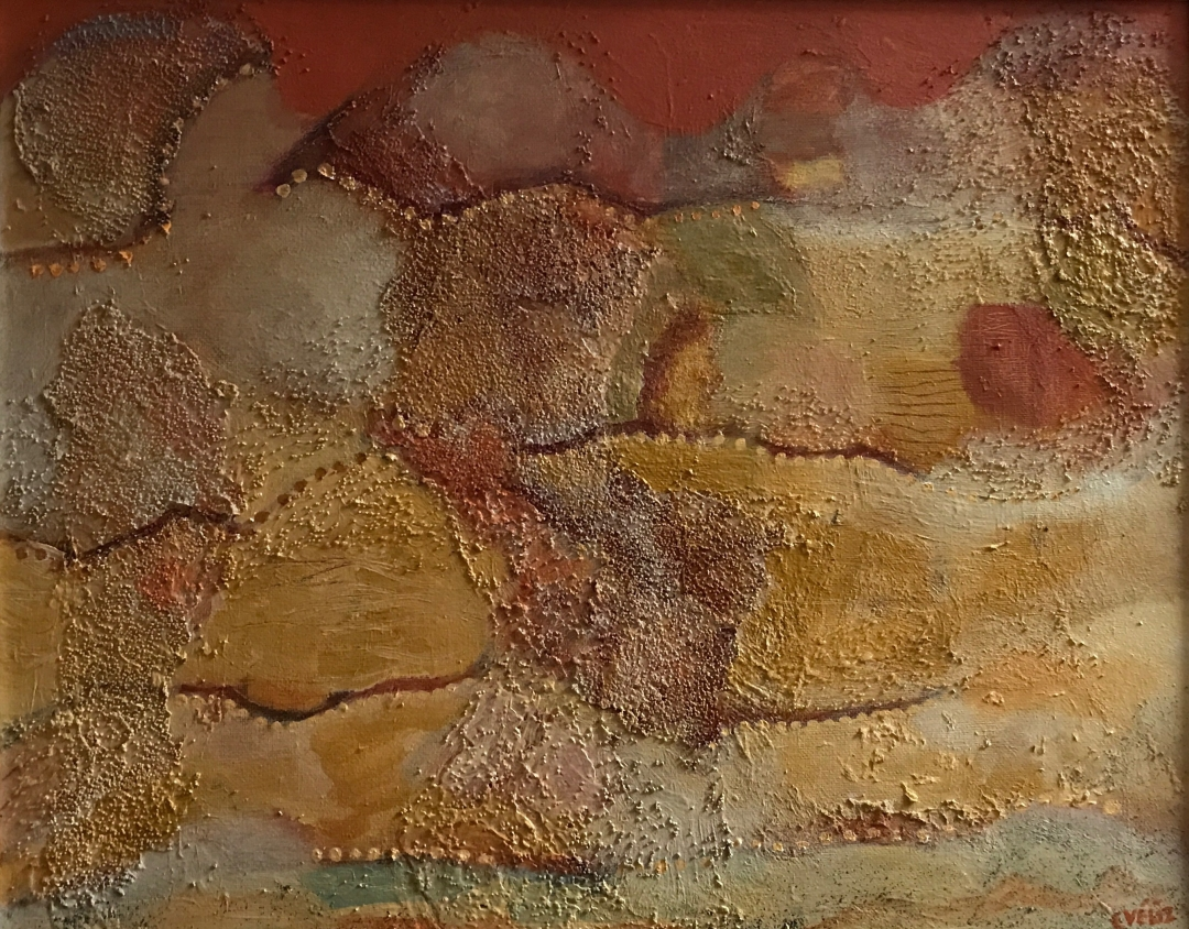 Carmen Veliz ~ Satori Gallery ~ Chile Collection ~ Footsteps