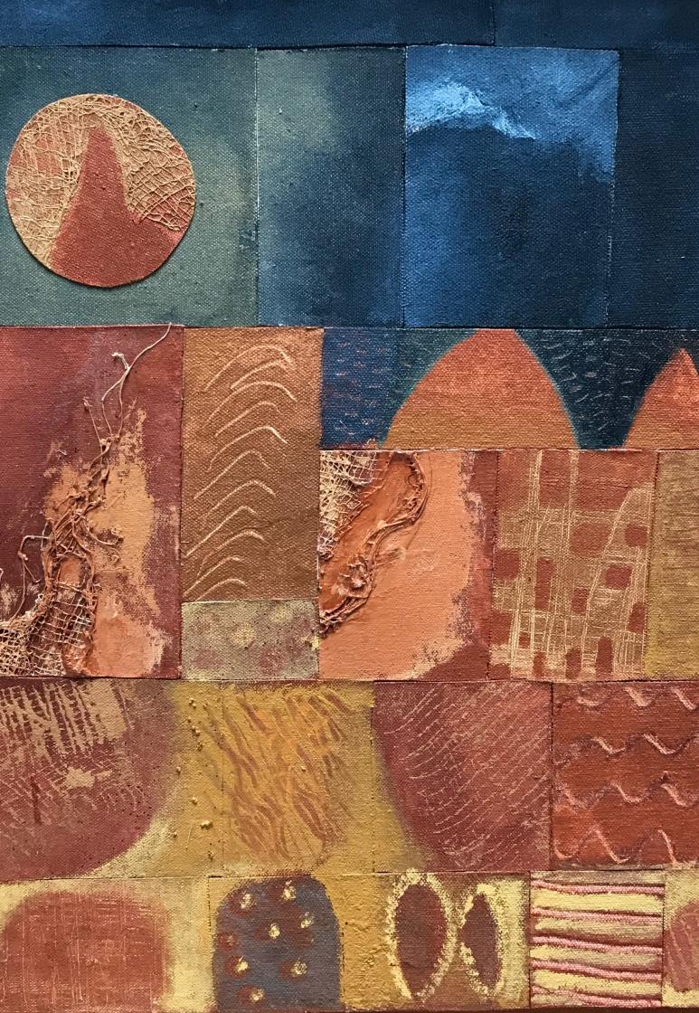 Carmen Veliz ~ Satori Gallery ~ Chile Collection ~ Night Sky
