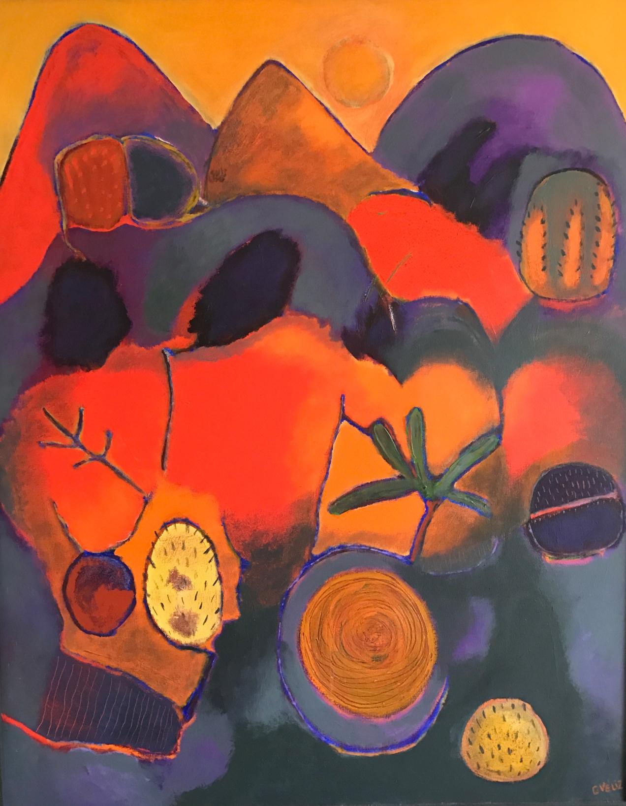 Carmen Veliz ~ Satori Gallery ~ Chile Collection ~ Hot Earth
